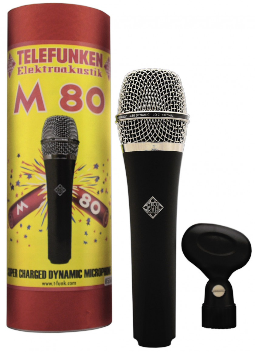 Telefunken M80 и упаковка