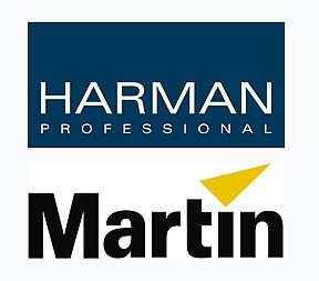 Harman - Martin professional логотипы