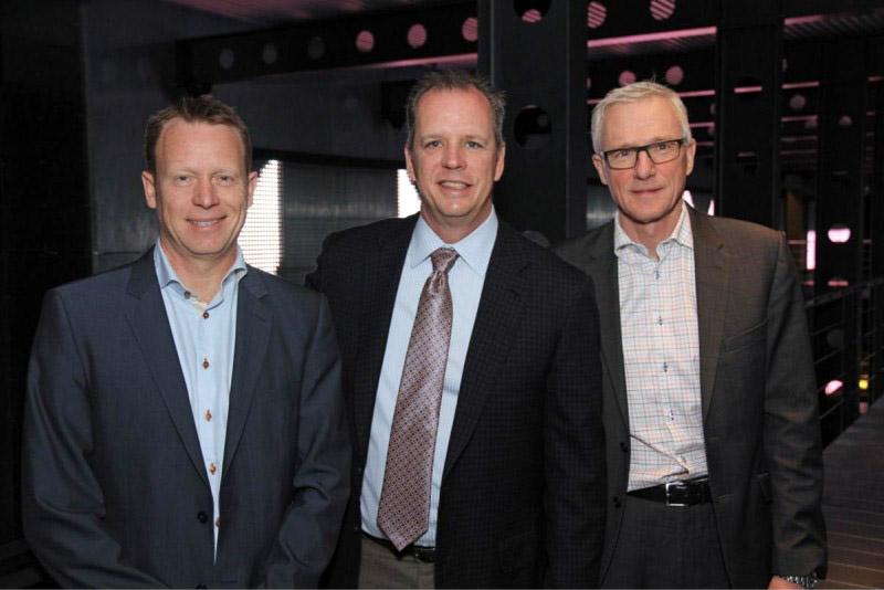 Слева направо: Кристиан Енгстед (Martin), Блэйк Аугсбургер (HARMAN), Йенс Бьерг Сйоренсен (Schouw & Co.)