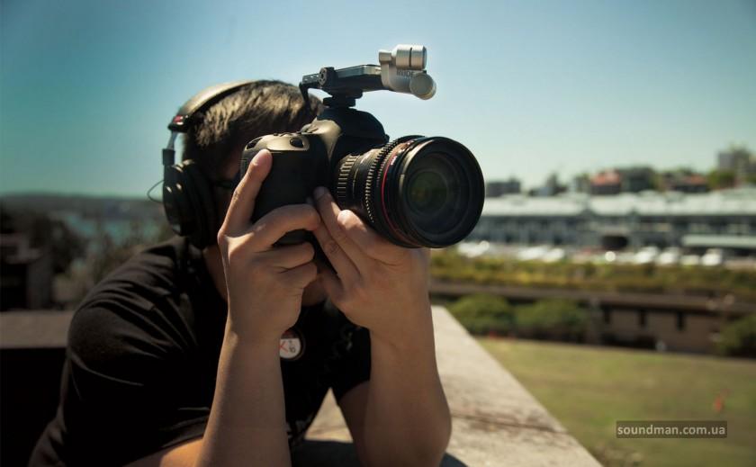 RODE iXY и DSLR камера