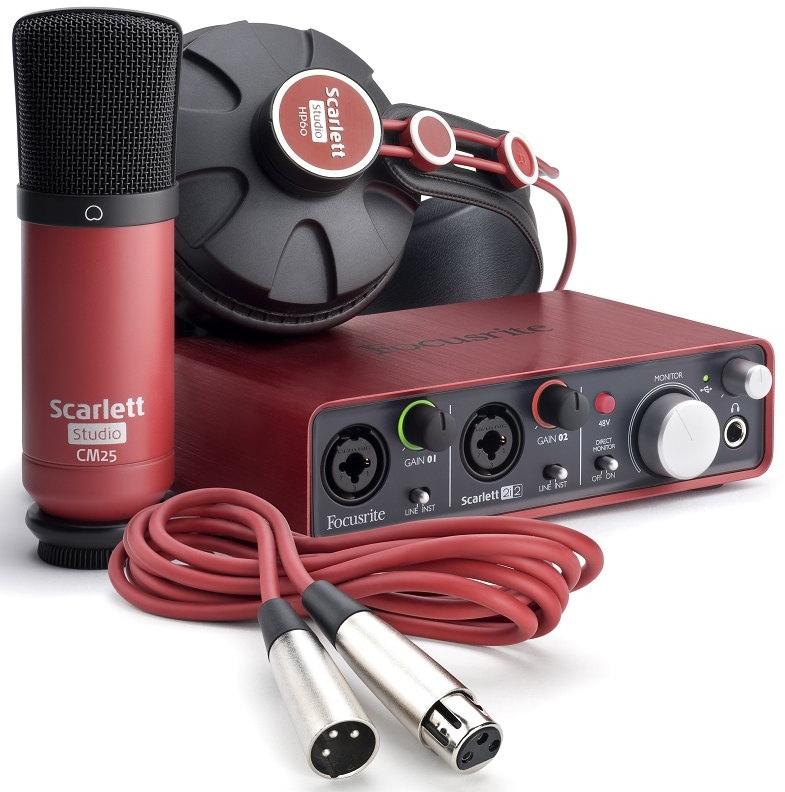 Focusrite Scarlett Scarlett Studio