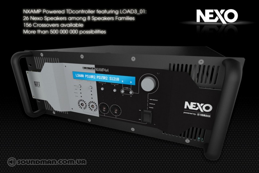 NEXO NXAMP Powered TD Controller