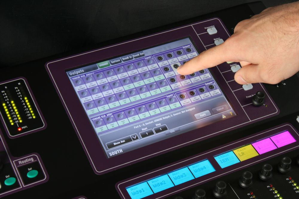 Allen & Heath GLD80 Patching Input and Output Channels
