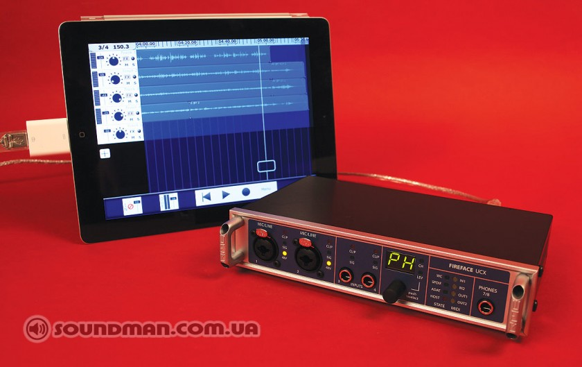 RME Fireface UCX + iPAD