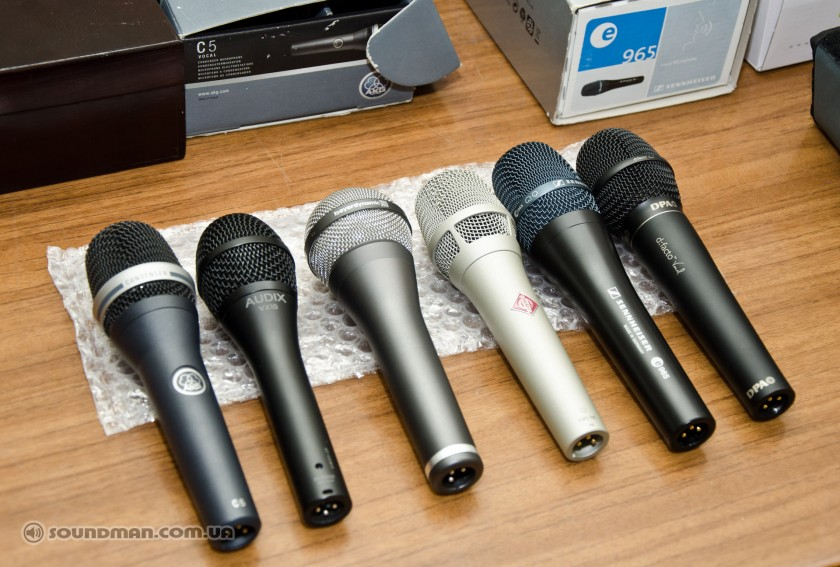 Тест конденсаторных микрофонов