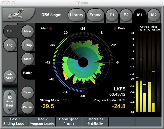 T.C.Electronic DB6 radar