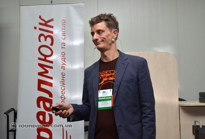 Fernando Delgado, специалист компании DiGiCo в области бродкаста