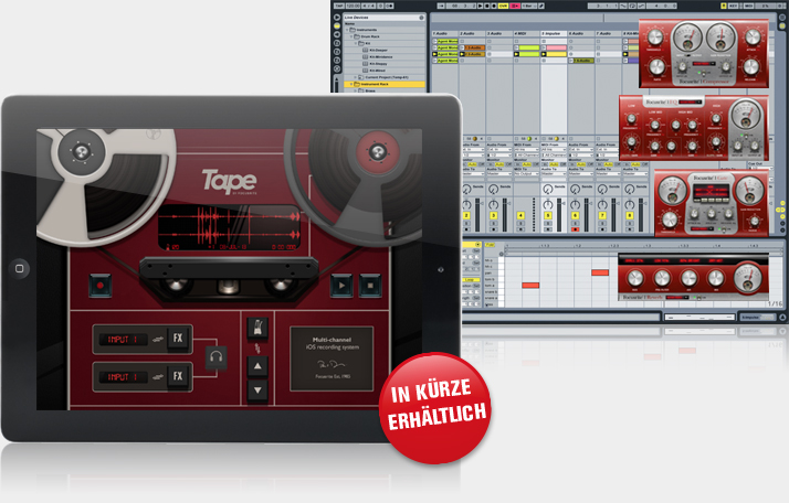 Focusrites Tape for iPad