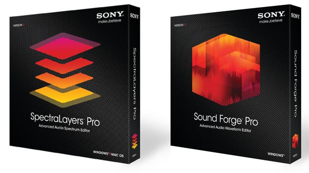 Spectralayers Pro & Sound Forge Pro