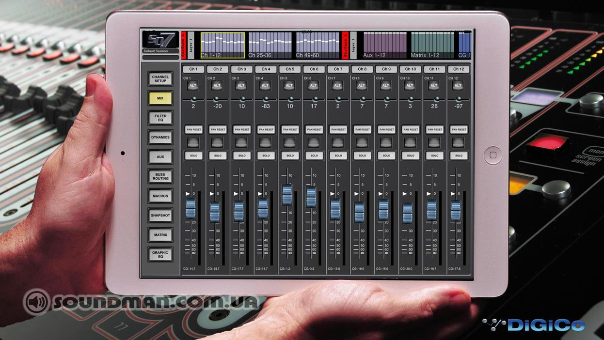 DiGiCo SD App