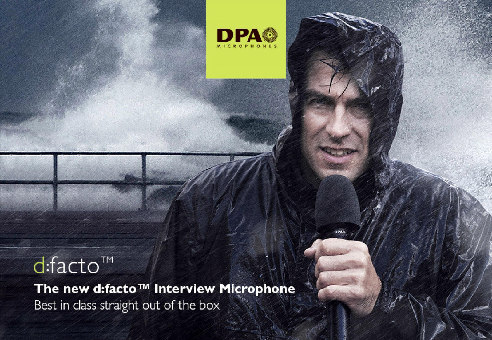 DPA d:facto™ Interview Microphone: