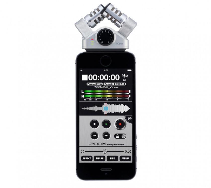 Zoom iQ6 XY