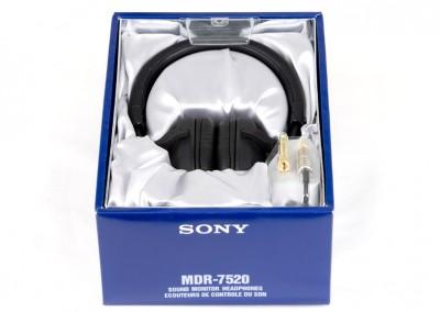 Упаковка Sony MDR-7520