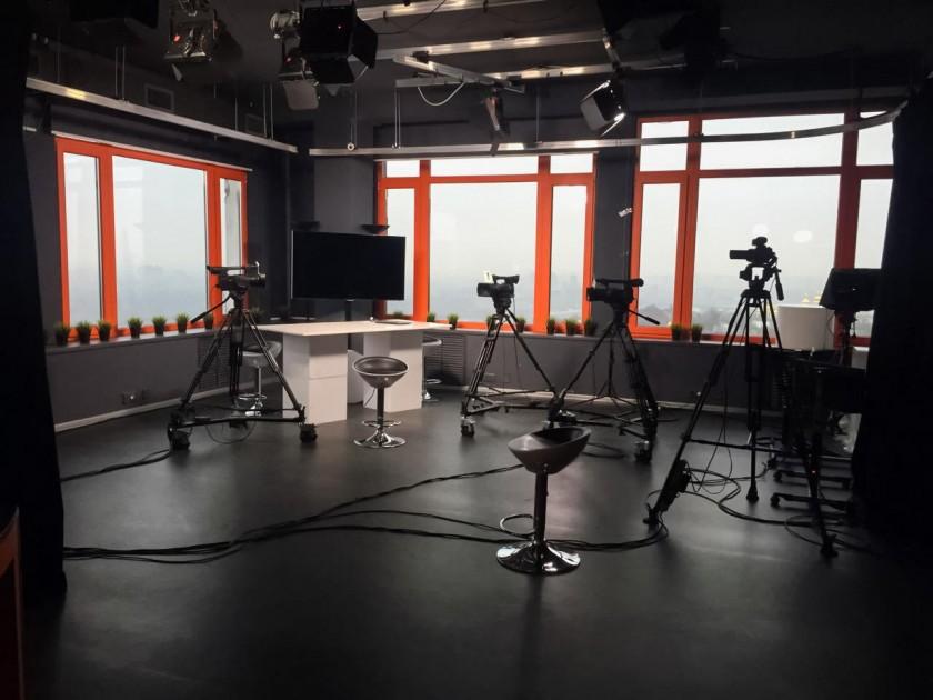 Эфирная студия hromadske.tv