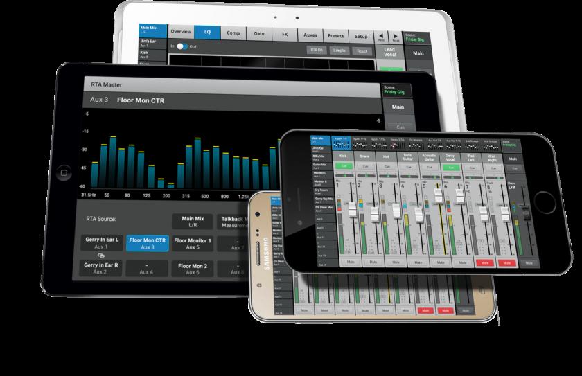 iOS или Android control app