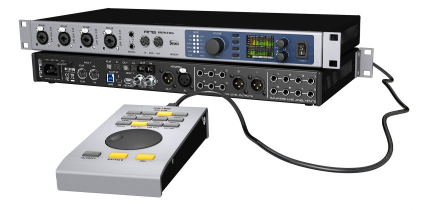 RME Fireface UFX II + Advanced Remote Control USB