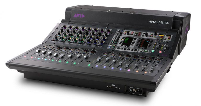 Avid VENUE | S6L Unified Live Sound Platform S6LExp-16C-angle