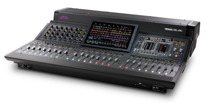 Avid VENUE | S6L Unified Live Sound Platform S6LExp-24C