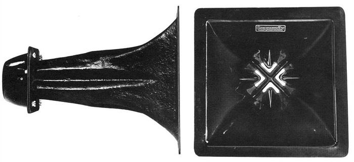 Community LMF Midrange fiberglass horn