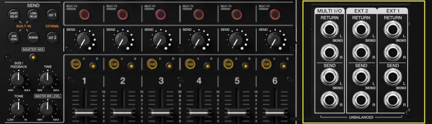 Pioneer DJM-V10 send_fx