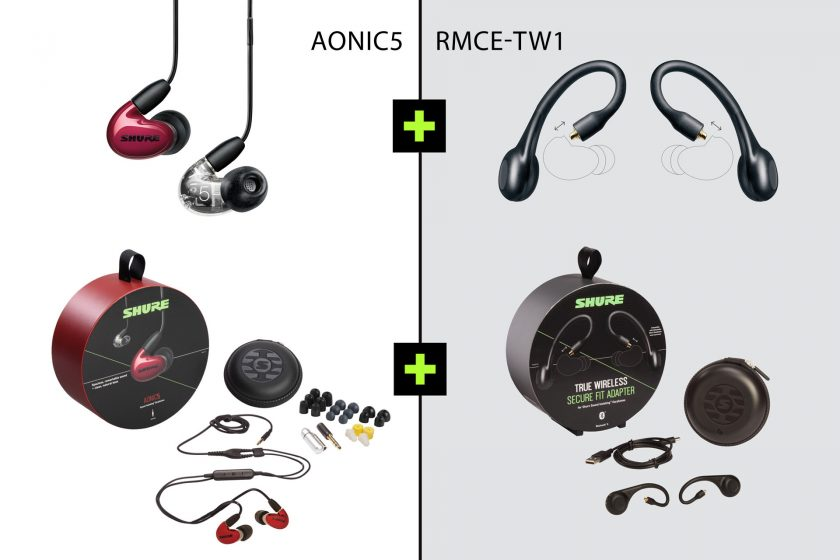 Aonic 5 + RMCE-TW1