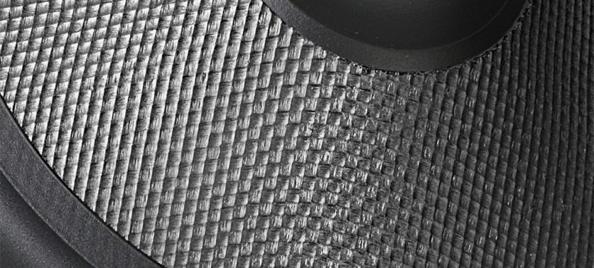 Aramid fiber woofer cones