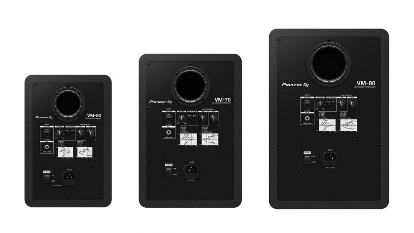 Pioneer DJ VM50, VM70, VM80 Rear
