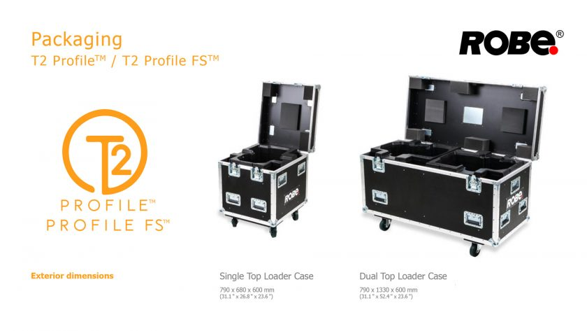 ROBE T2 Profile™ рэки