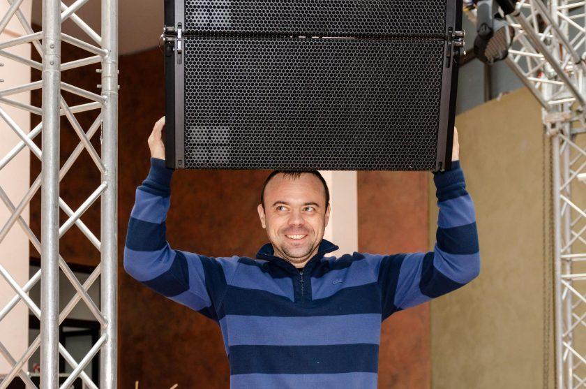 Алексей Смолянинов — директор Sound Rent