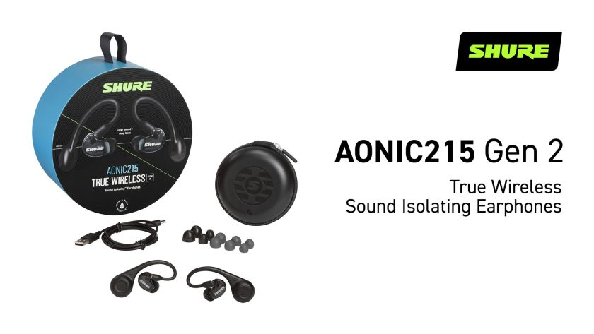 SHURE AONIC215 + TW2