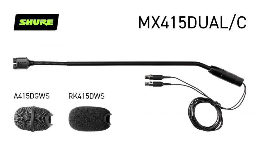 Shure MX415DUAL