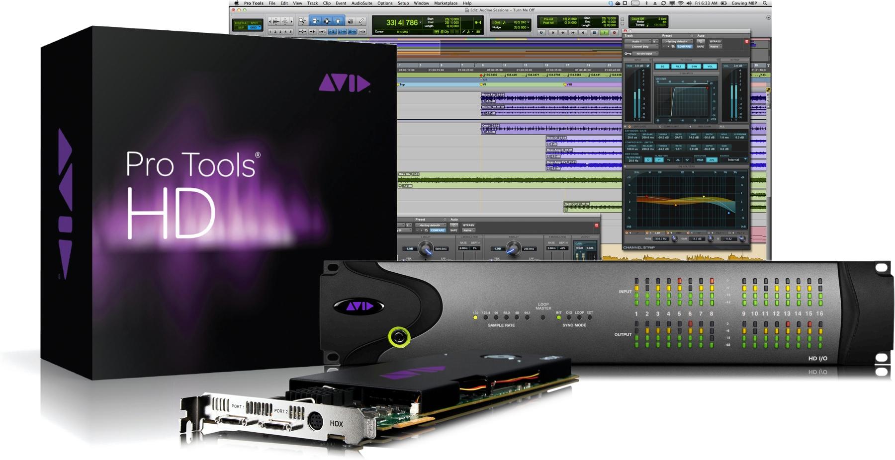 Pro Tools®|HDX.