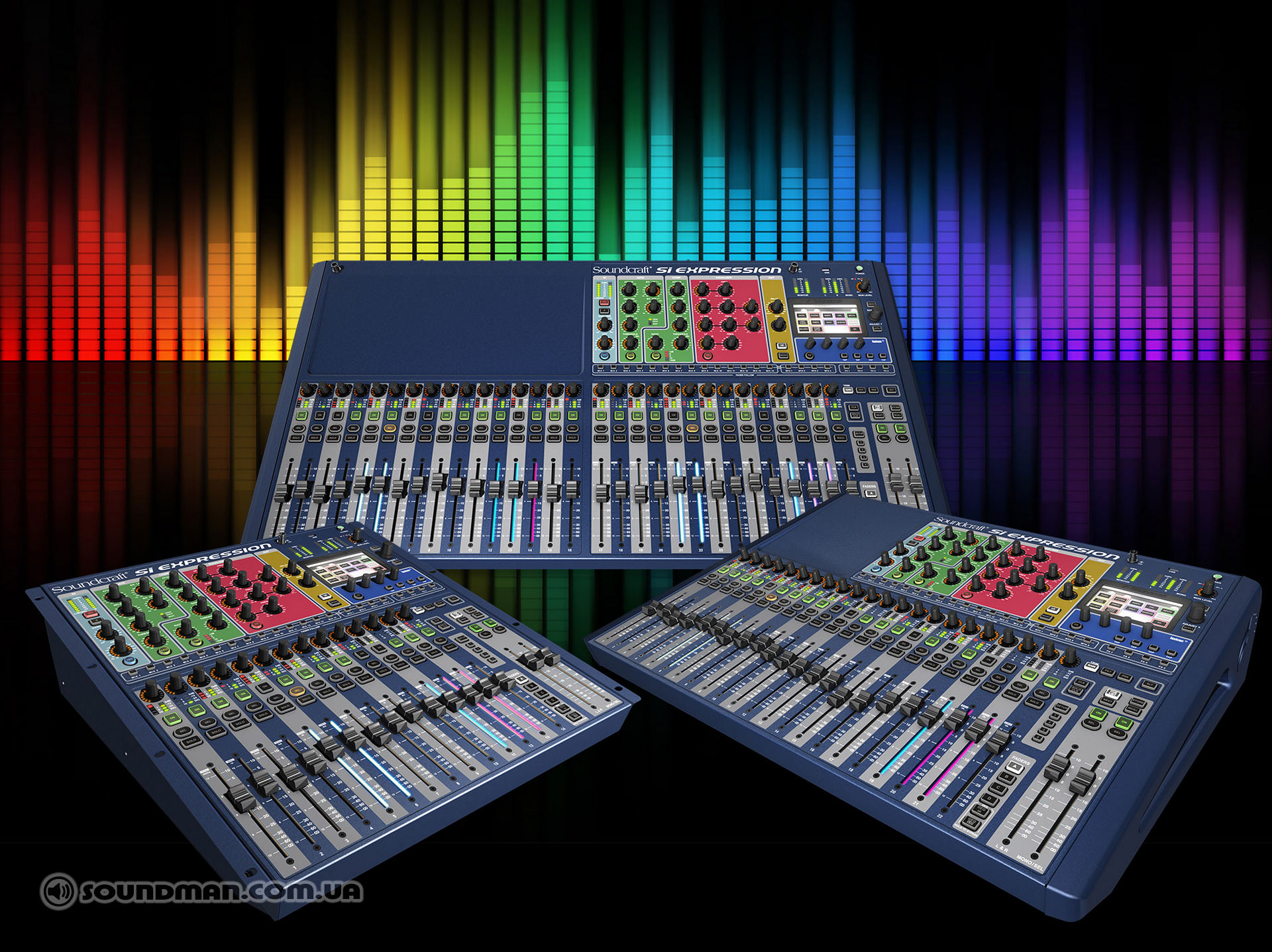Soundcraft Si Expression 1, 2,3