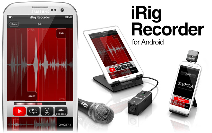 iRig recorder для Android