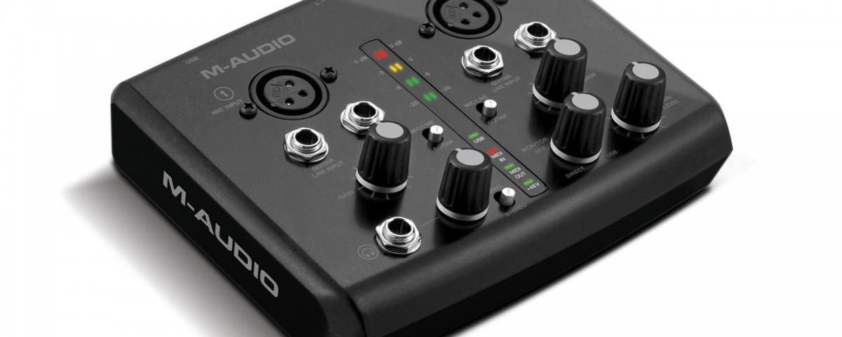 M Audio M-track