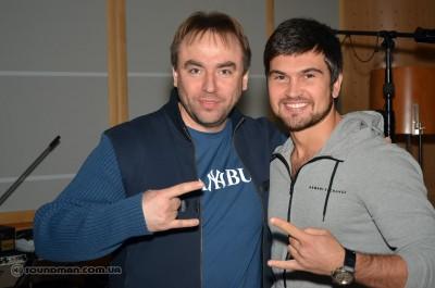 Александр Муренко и Василий Бондарчук, музыканты из большого шоу-бизнеса
