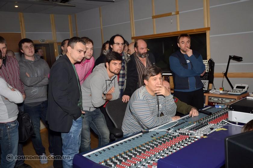 Прослушивание EVE Audio, аппаратная TROY Zvukozapys
