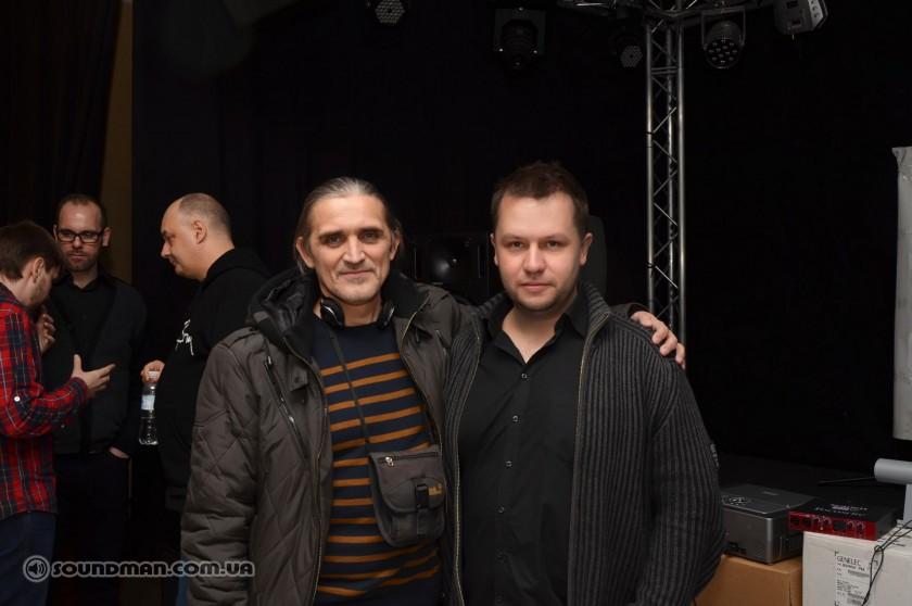 Семинар Genelec, Евгений Водовозов и Алексей Малайный (Soundman)
