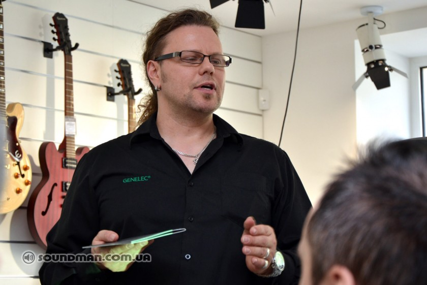 Мастер-класс 2013 по студийным мониторам Genelec