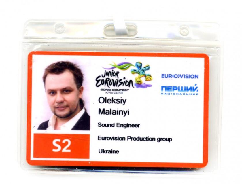 JESC 2013 Алексей Малайный Sound Engineer