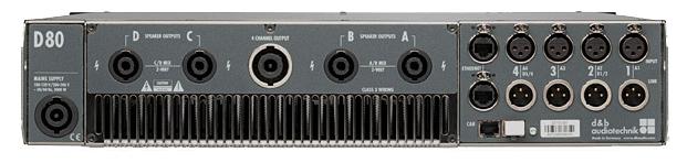 d&b audiotechnik D80