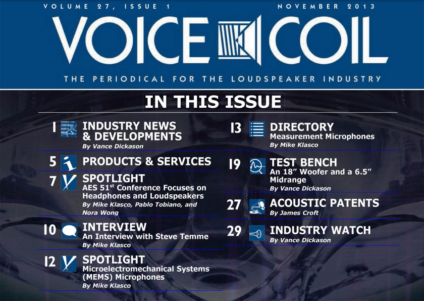 Voice Coil magazin