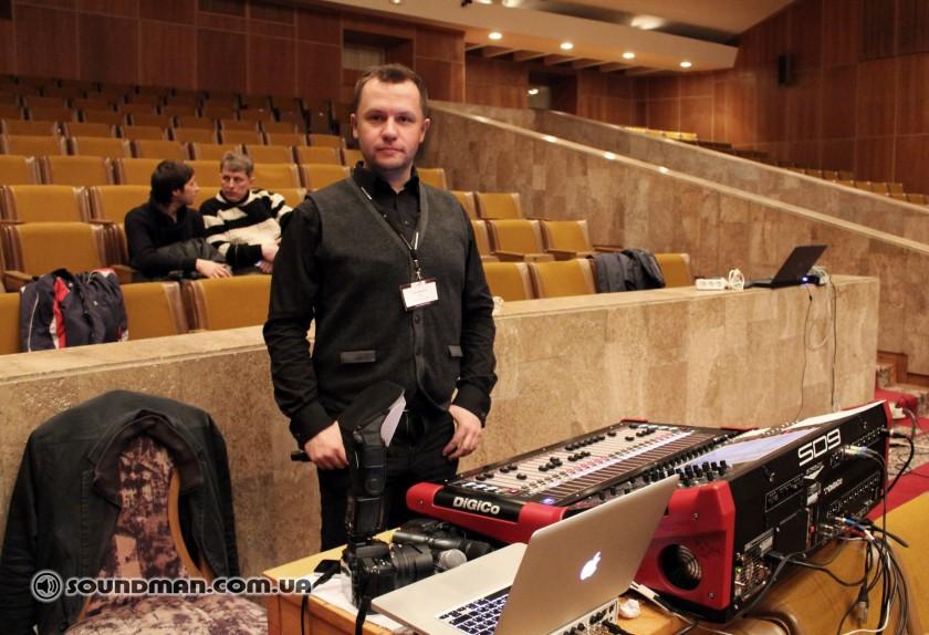 Алексей Малайный, организатор, идеолог, ведущий Open Ears