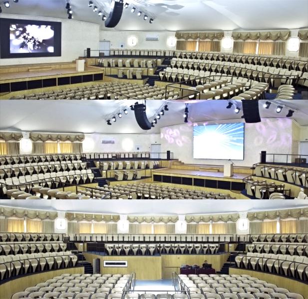 """Инсталляция Clair Brothes в концерт-холле """"Одесса"""" (1)"""