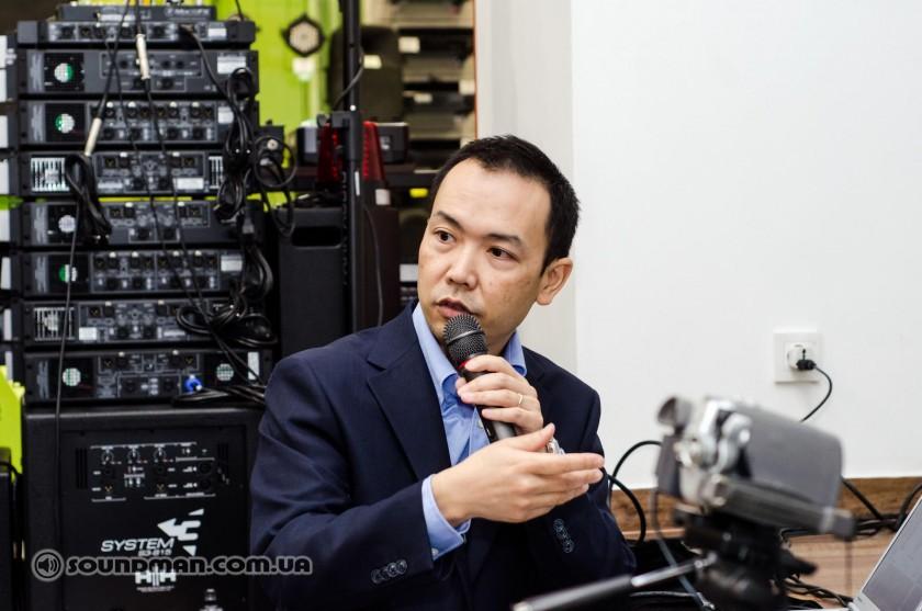 Naohide Kohyama. Презентация Yamaha TF и QL