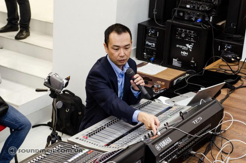 Презентация Yamaha TF и QL