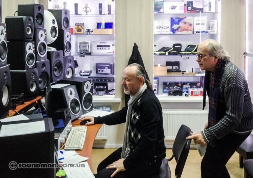 Влад Резник и Юрий Товстоган (СЗУ)