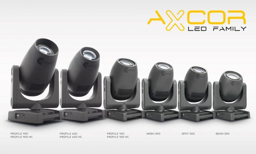 Сlaypaky Аxcor Led Series